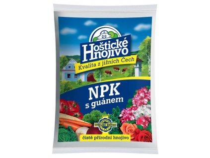 Hoštické NPK hnojivo s guánem 1 kg