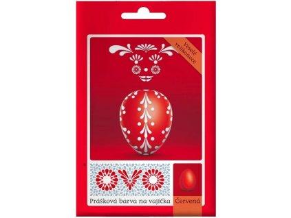 OVO Prášková barva na vaj. červená 5 g