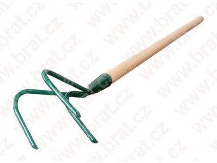 Kypřič trojzubý s násadou 100 cm