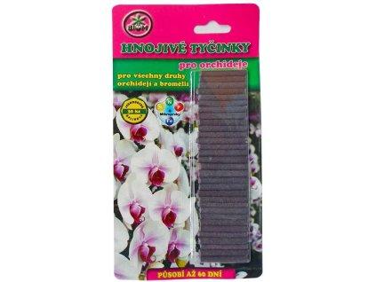 Tyčinkové hnojivo BIOM pro orchideje 30 ks