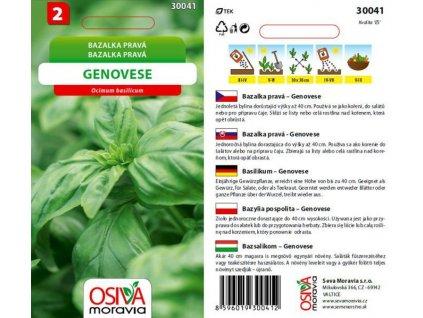 Bazalka pravá GENOVESE_0,5 g
