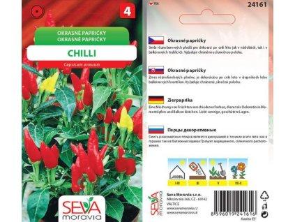 Okrasné papričky Chilli_0,3 g