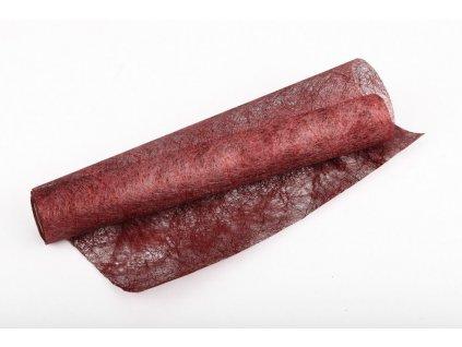Long fibre - metal 30 cm x 4,6 m - antická červená