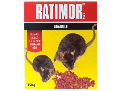 Ratimor Bromad. granule 150 g - krabička