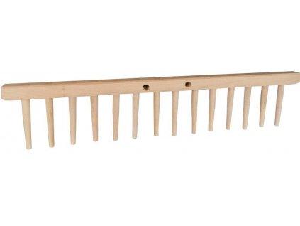 Hřeben hrabí 14 dřev. zubů