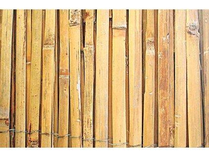 Bambusová rohož 2 x 5 m - štípaný