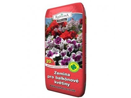 Zemina pro balk. květiny 20 l, RA