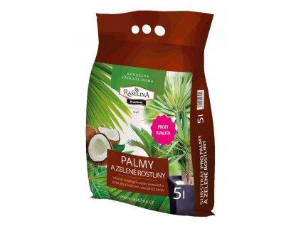 Substrát pro palmy a zelené rostliny 5 l, RA