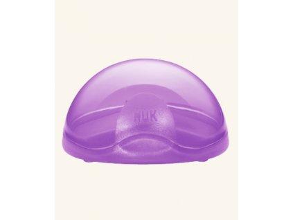 NUK Ochranný box na dudlík fialová