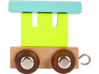 Small Foot Vláček barevný vagónek