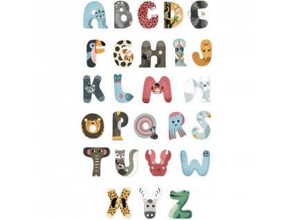 Vilac Zvířátková abeceda 1ks písmenko A