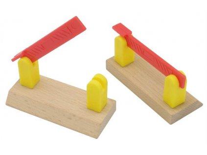 Maxim Dřevěné závory jednoduché 2 kusy