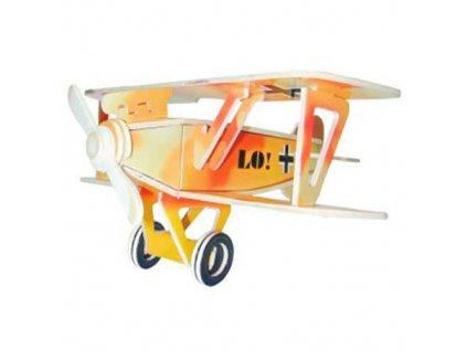 Woodcraft Dřevěné 3D puzzle abatros