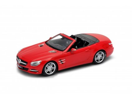 Welly - Mercedes-Benz SL500 (2012) Convetible model 1:60