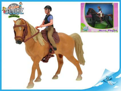 Koník s jezdcem 1ks
