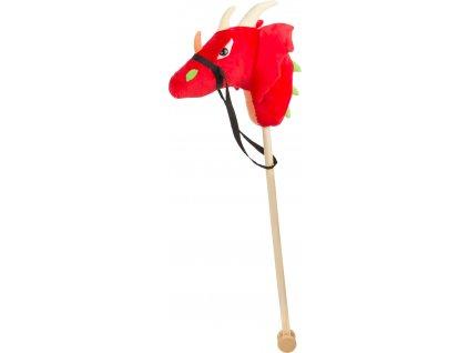 Small Foot Koník na tyči Červený drak