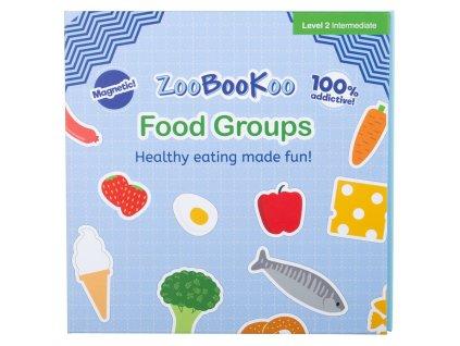 Zoobookoo Magnetická kniha Potravinové skupiny