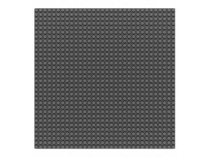 Sluban Bricks Base M38-B0833D Základní deska 25.6 x 25.6 cm šedá