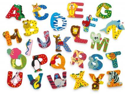 Dřevěná abecedy 1ks - písmenko C