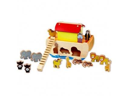 Classic world Noemova archa se zvířátky