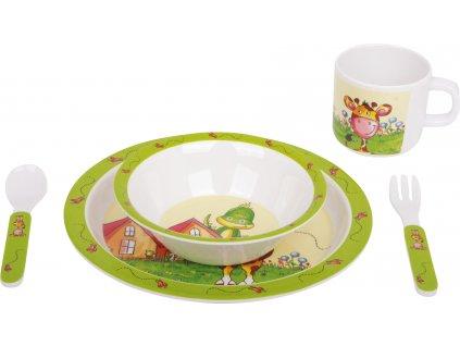 Small Foot Dětské nádobí Tobi a Lilly