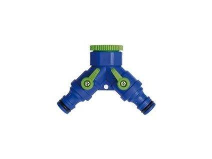 """2 cestný ventil s adaptérem 3/4`` & 1/2"""" bl. A96321"""