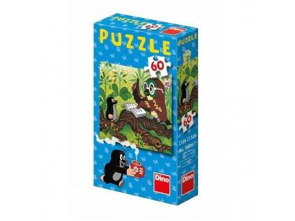 Dino Puzzle Jak Krtek uzdravil myšku 1 ks 60 dílků