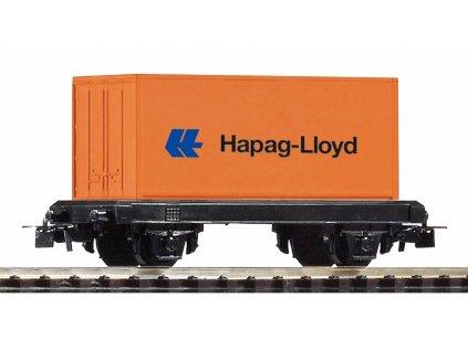 Piko myTrain® Plošinový vagon s kontejnérem DB - 57022
