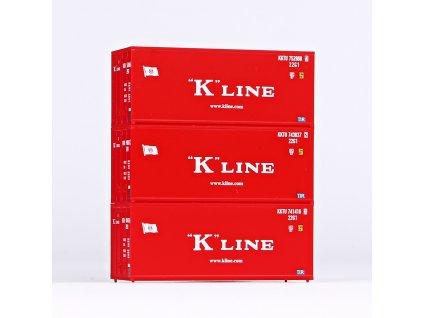 Piko Sada 3x20ft kontejnér K-Line - 56220