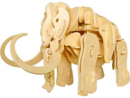 RoboTime 3D puzzle robotická hračka mamut