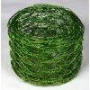 Vázací síťka hexanet - 5 cm, 2,5 m, jablková