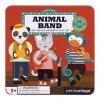 Petitcollage Magnetické puzzle Zvířátka - poškozená kovová krabička