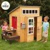 KidKraft Moderní hrací dřevěný domeček na zahradu