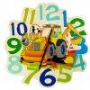 Hess Dětské dřevěné hodiny bagr