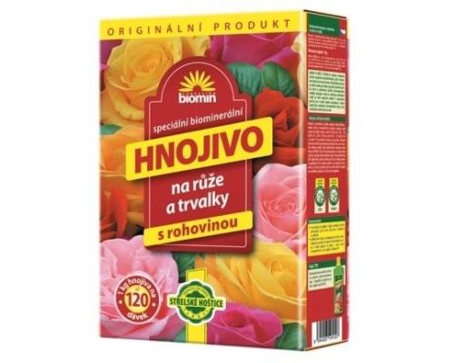 Hnojiva pro trvalky a růže