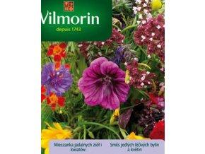 vilmorin smes jedlych lecivych bylin a kvetin 3 g