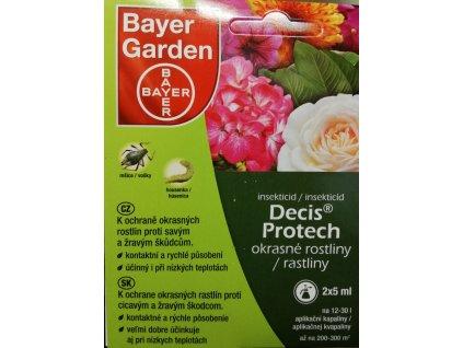 DECIS  PROTECH - okrasné rostliny 2 x 5 ml