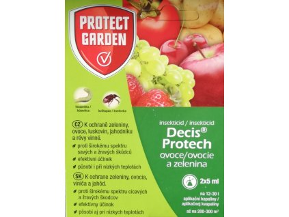 DECIS  PROTECH - ovoce a zelenina 2 x 5 ml