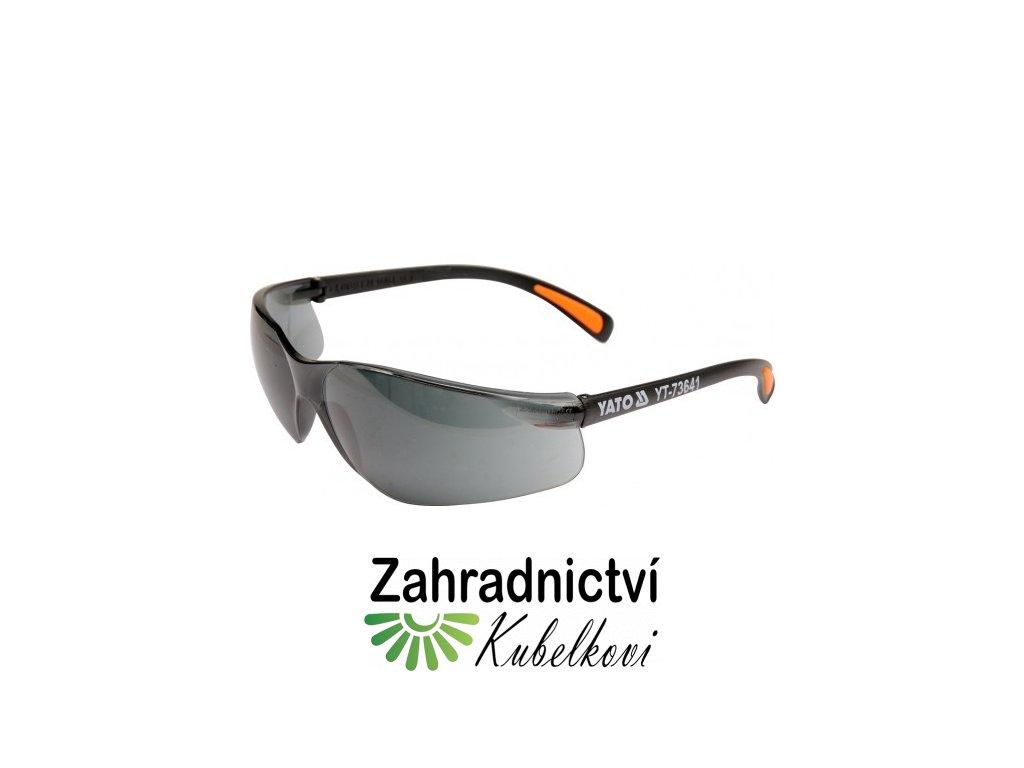 Brýle ochranné tmavé B517