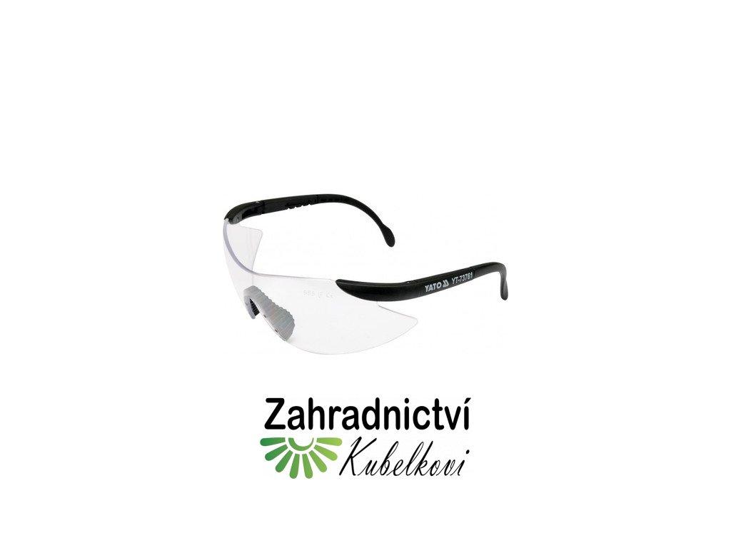Brýle ochranné bílé B532