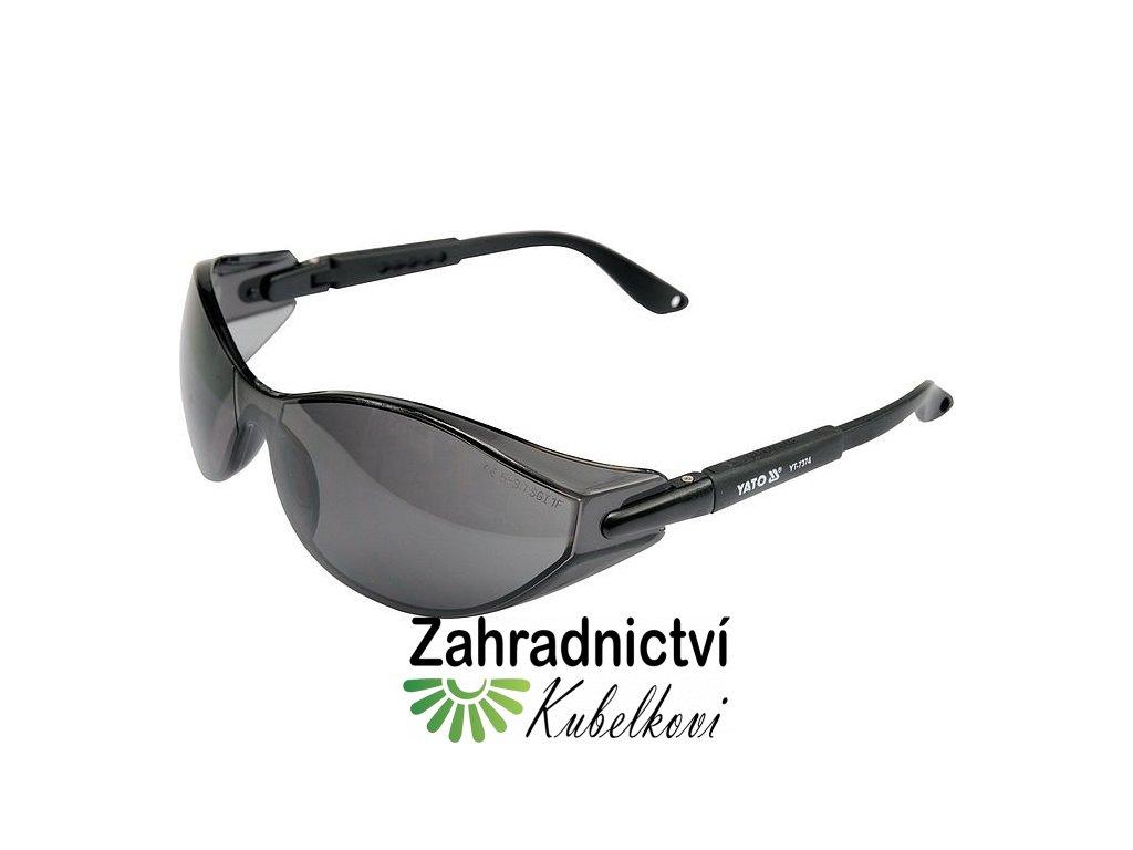 Brýle ochranné černé 91293