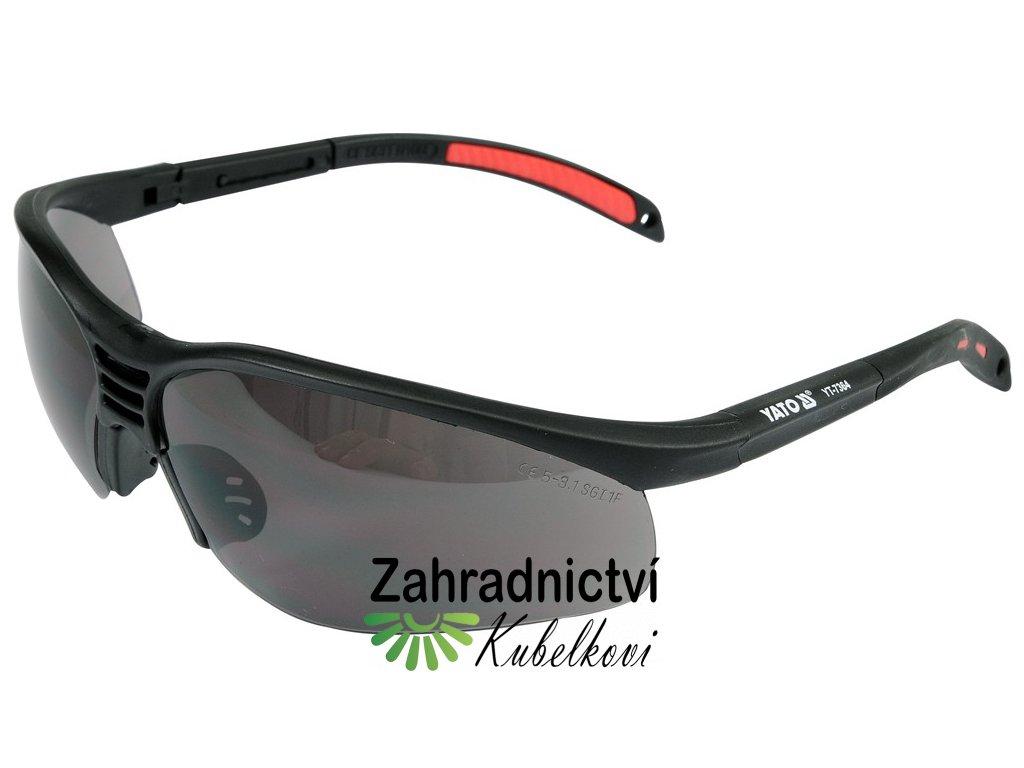 Brýle ochranné černé 91977