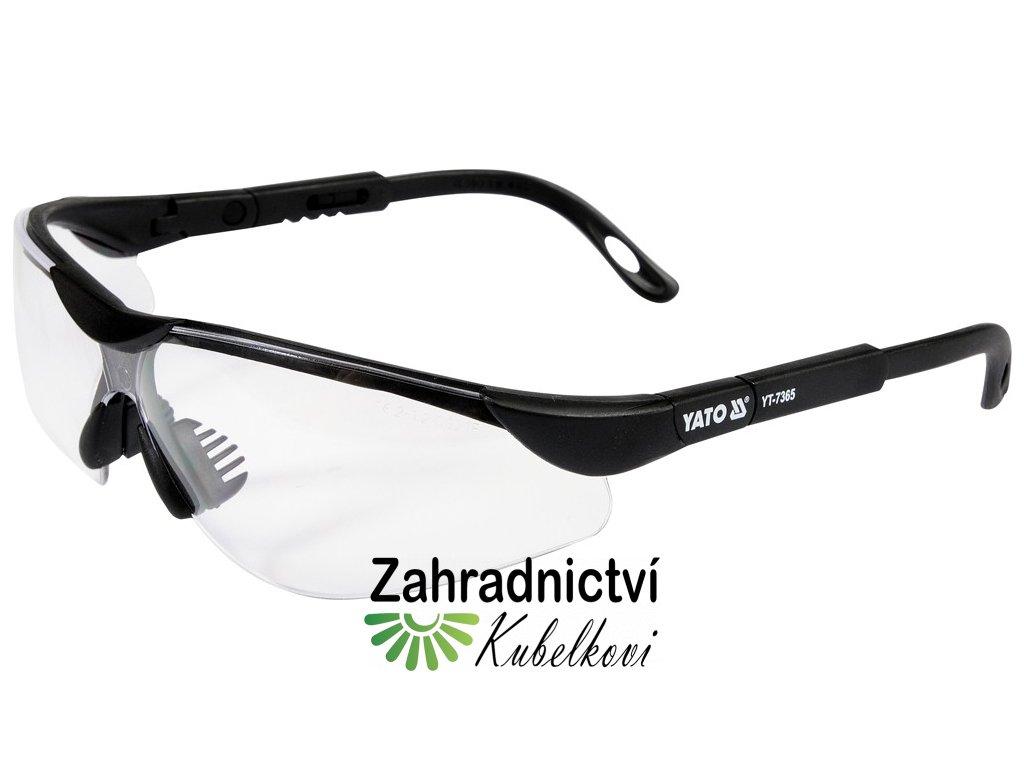 Brýle ochranné bílé 91659
