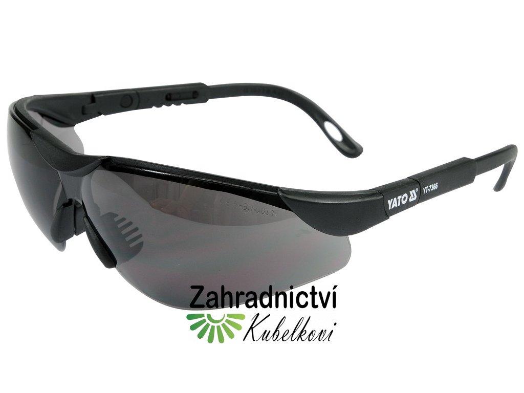 Brýle ochranné černé 91659