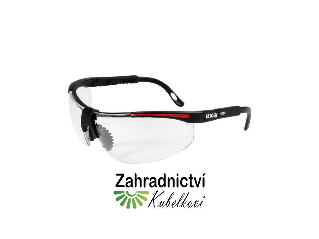 Brýle ochranné bílé 91708