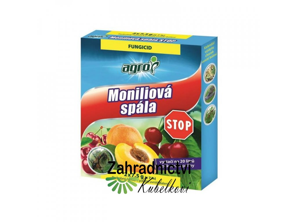 Agro Moniliová spála STOP 2x 7,5 g