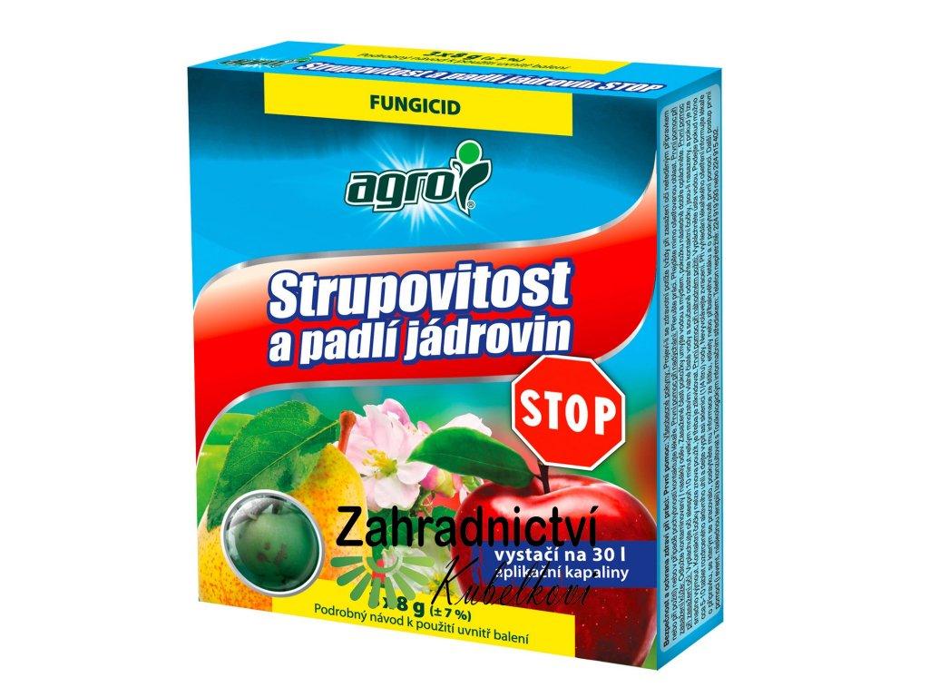 Agro Strupovitost a padlí jádrovin STOP 2 x 8 g