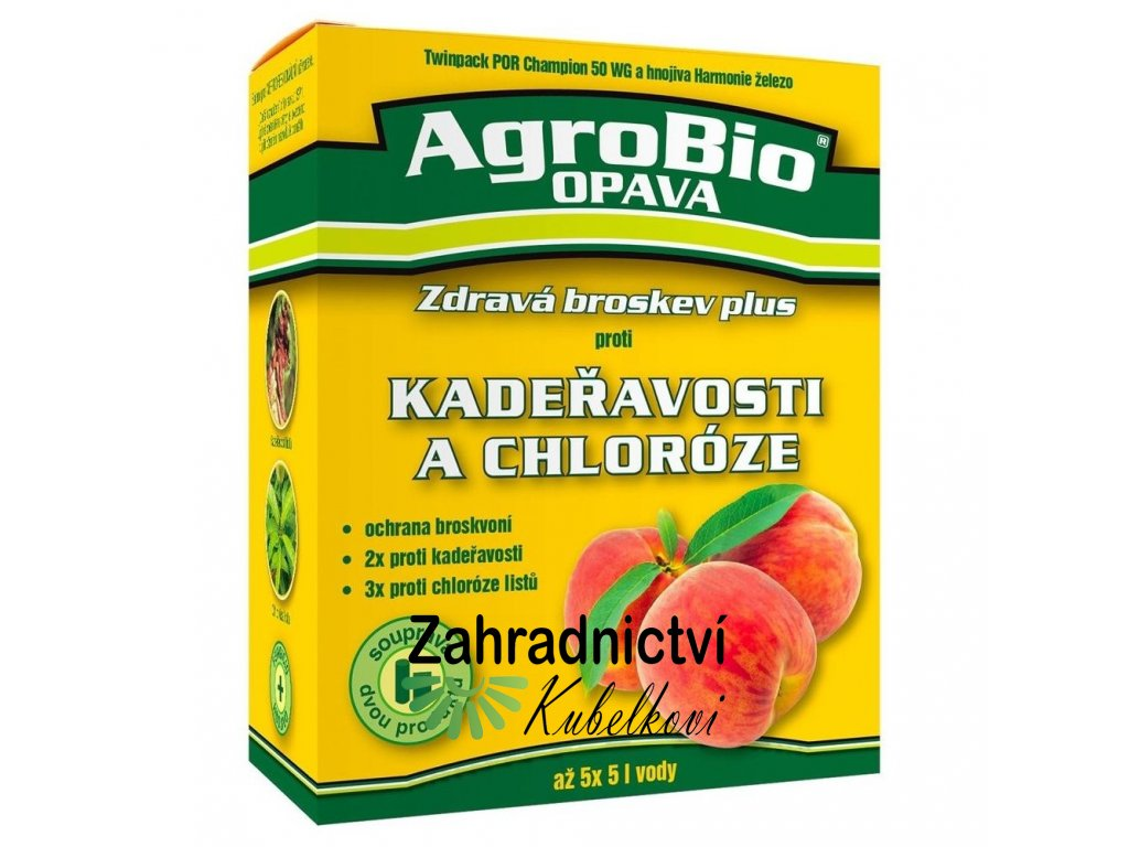 AgroBio Zdravá broskev plus proti kadeřavosti a chloróze