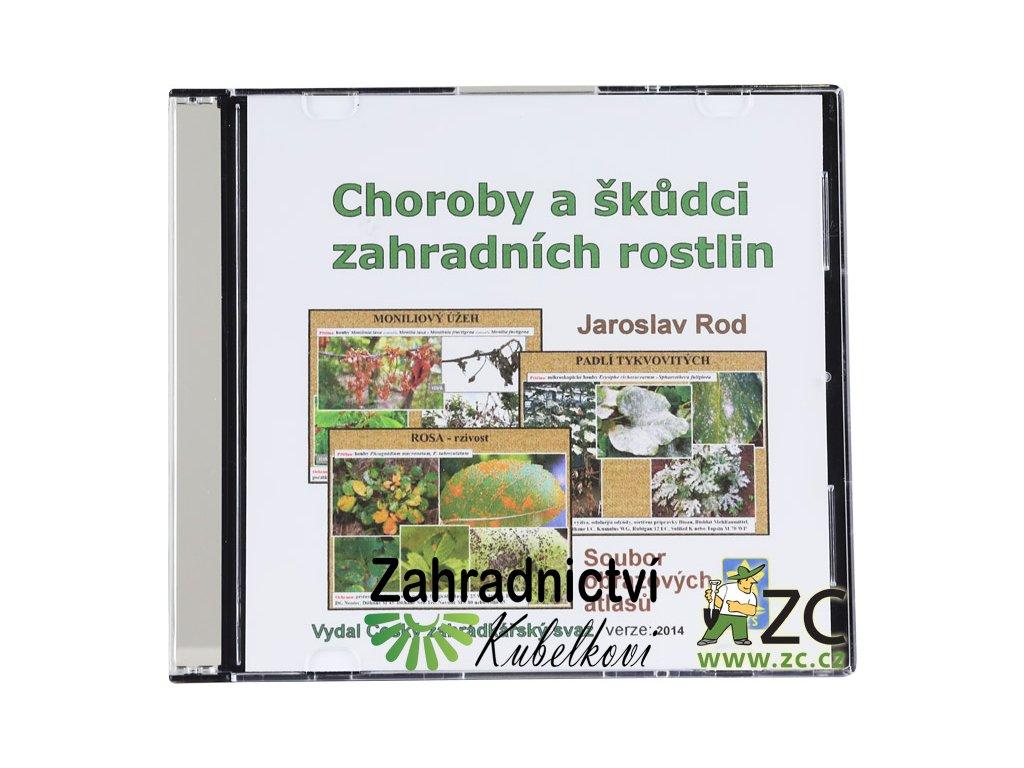 CD - Choroby a škůdci zahradních rostlin