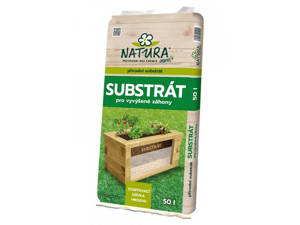 00515A NATURA Substrat pro vyvysene zahony 50l 8592542002922